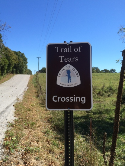 Trail of Tears Signs - 016 - Shiloh Church Road